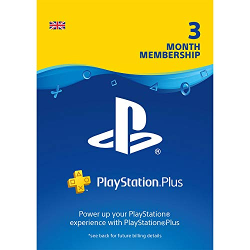 Sony 239786 Psn Plus-Kaart Voor Ps4, 3 Month (Ps4)