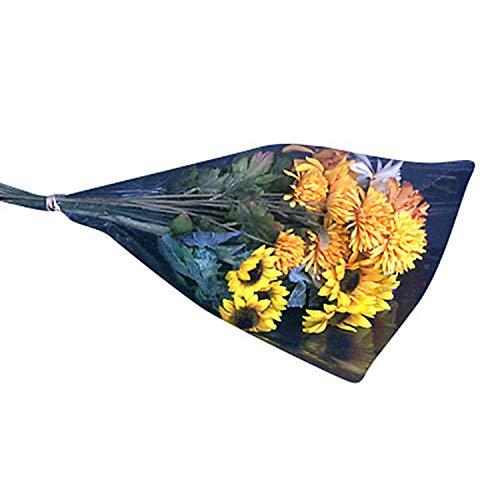 "Clear Cut Flower Bouquet Sleeves - 12"" diam. x 16"" Tall x 3"" at Bottom"