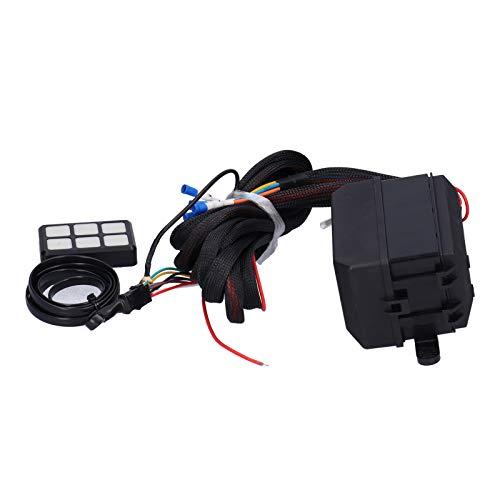 Sistema de relé electrónico, panel de interruptores con protección múltiple Sistema de relés electrónicos Caja de relés Arnés de cableado Panel de interruptores Relé 12V CC para barco para