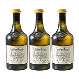Château-Chalon Vin jaune Blanc 2013 - Domaine Jean-Luc Mouillard - Vin AOC Blanc du Jura - Lot de 3x62cl - Cépage Savagnin - 92/100 La Revue du Vin de France