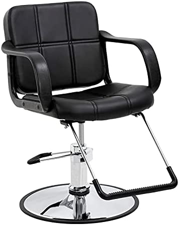 Paddie Hydraulic Barber Chair Salon Chairs High material Stylist Hair Online limited product for Mode