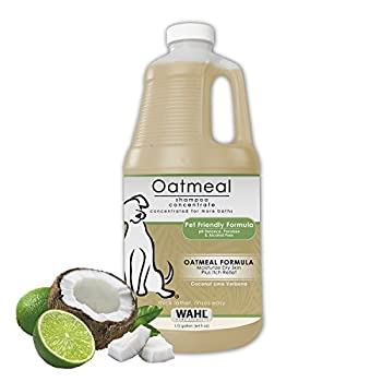 WAHL Dry Skin & Itch Relief Pet Shampoo for Dogs – Oatmeal Formula with Coconut Lime Verbena - Model 821004-050