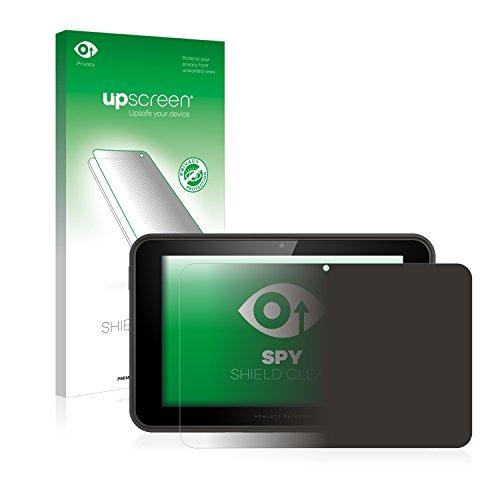 upscreen Anti-Spy Blickschutzfolie kompatibel mit HP Pro Slate 10 EE Privacy Screen Sichtschutz Bildschirmschutz-Folie
