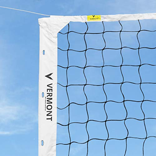 Net World Sports Competition Volleyball Nets | FIVB Regulation Volleyball Nets for Tournaments | Net Only (Volleyball Net Antennas & Sheath)