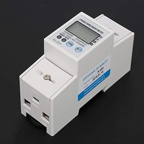 KWh Meter AMR Systems Leichtgewicht DIN-Rail Stromzähler Zweifarbige LED für die Industrie CNC Machine Mechanical