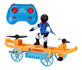 littlebuddy remote drone mini skateboard airplane model airplane land land air boy boutique small toy- Multi color