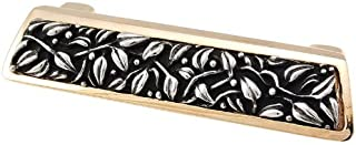 Vicenza Designs P1250 San Michele Venetian Style Finger Pull, Two Tone