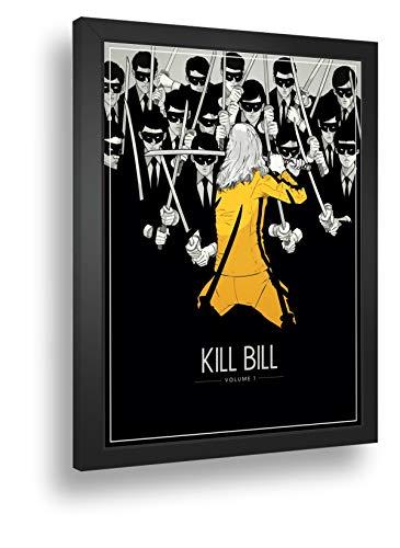 Quadro Decorativo Poste Kill Bill Assassina Violencia Retro