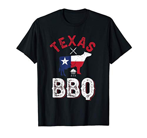 Texas BBQ American Barbecue Grillsaison Beef T-Shirt