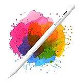 Coolreall Lápiz Stylus para iPad 2018-2020, Compatible con iPad 8th&6th&7th/iPad Air 4&3/Mini 5/iPad Pro 11&12.9, con rechazo de la Palma de la Mano, Recargable Activo, Nido de bolígrafo reemplazable