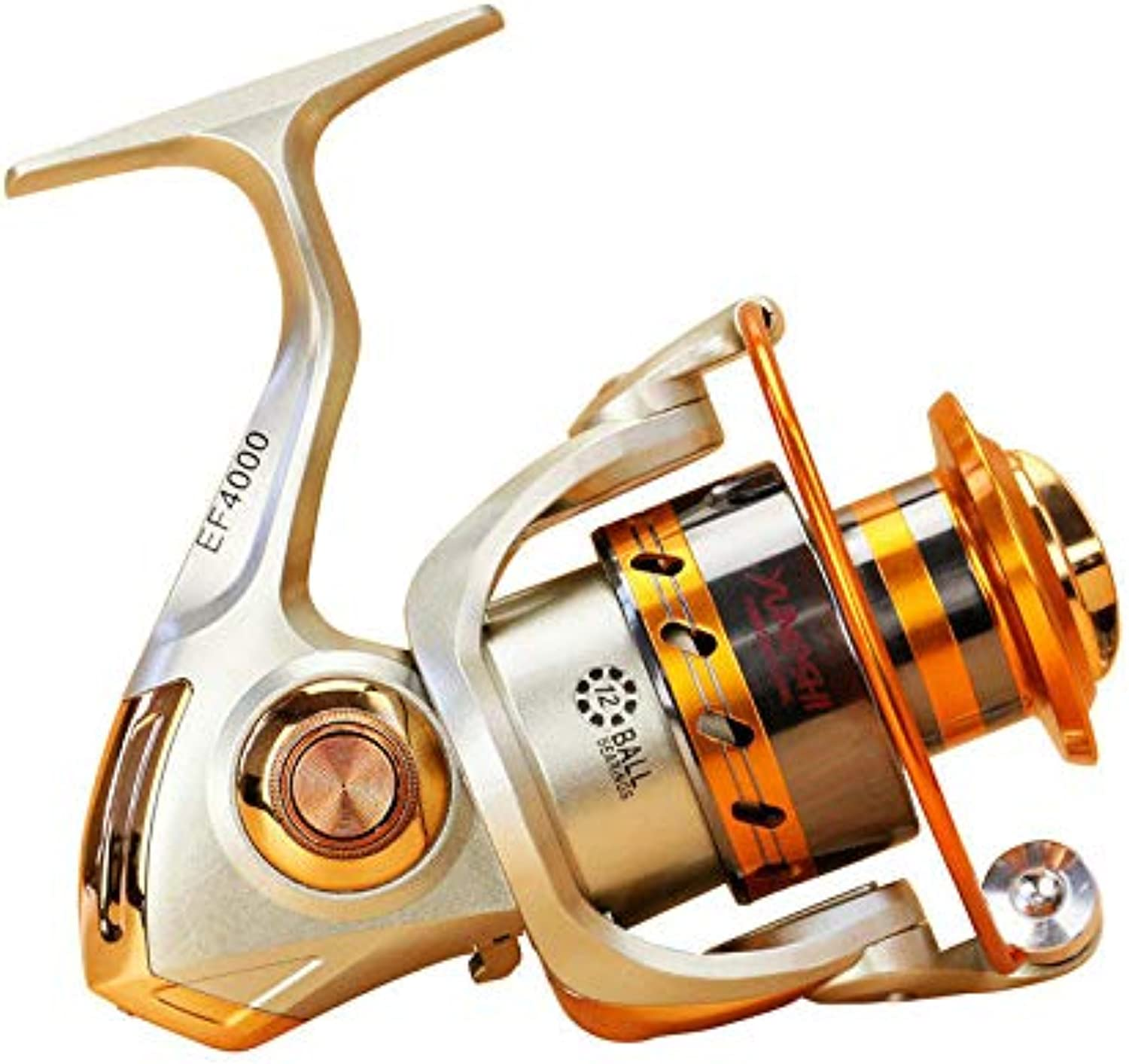 EF3000-6000 5.5 1 12BB Full Metal Spinning Reel Left Right Hand Interchange Fishing Reel