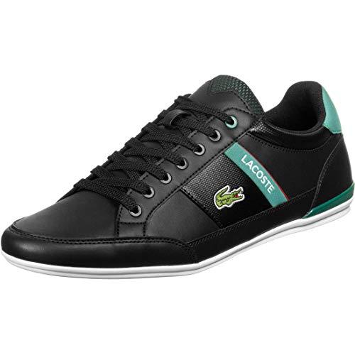 Lacoste Mens 739CMA00111B4_44 Sneaker, Black, EU