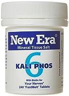 New Era Number 6 Kali. Phos. Tablets - Pack of 240