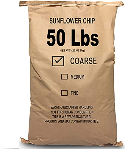 EasyGo Product Sunflower Kernels – Sun Flower Chips Wild Bird Food – 50 lb
