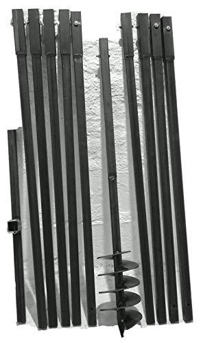 MWS-Apel 150/10 Meter Erdbohrer Brunnenbohrer Handerdbohrer Erdlochbohrer Brunnenbau Pfahlbohrer brunnenbohrgerät