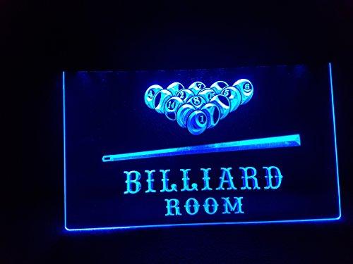 BILLARD Pool Leuchtschild LED Neu Schild Laden Reklame Neon Neonschild