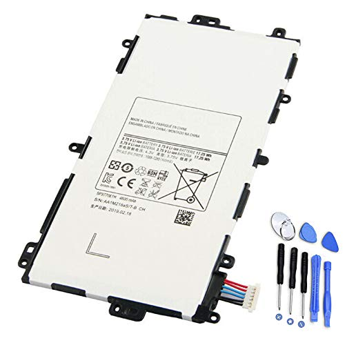 7XINbox SP3770E1H 3.75V 4600mAh 17.25Wh Reemplazo de batería para Samsung Galaxy Note 8.0 Tablet GT-N5110 GT-N5100