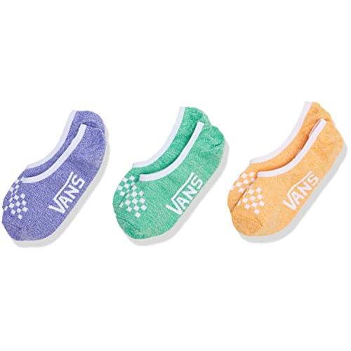 Vans Classic Marled Canoodles 6.5-10 3pk Calze, Multicolore (Primary Multi Vcx), (Taglia Unica: OS) (Pacco da 3) Donna