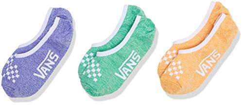 Vans Damen Classic Marled Canoodles 6.5-10 3pk Socken, Mehrfarbig (Primary Multi Vcx), One Size (Herstellergröße: OS) (3er Pack)