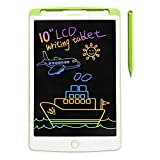 Richgv LCD Writing Tablet, 10 Inches Colorful Screen Digital Electronic Graphics Tablet Ewriter with Memory Lock