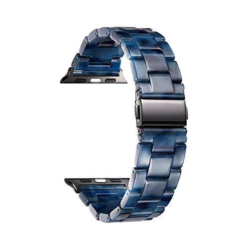 BINLUN Cinturini di Ricambio per Smartwatch in Resina Compatibili con Apple Watch Series 1/2/3/4/5/6,SE/Nike/Sport/Hermes/Edition 42mm 44mm Cinturini per Orologi in Resina per Uomo Donna in 14 colori