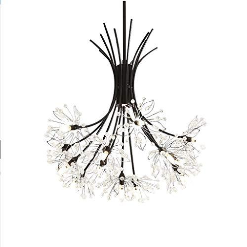 DYXYH Araña de Diente de león, la lámpara de Techo Caliente romántica Minimalista Moderna, Dormitorio Personalidad Creativa del Arte lámpara de la Sala de Estar