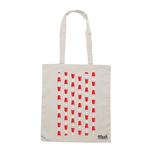 MUSH Borsa Beer Pong Birra - Panna - Games by Dress Your Style