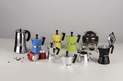 Barazzoni(バラゾーニ)直火式エスプレッソメーカーステンレス∅10×H18cmステンレスエスプレッソコーヒーメーカー4カップ830008004