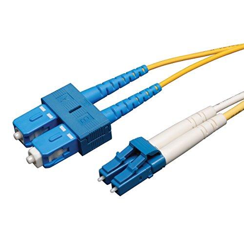 Tripp Lite Duplex Singlemode 9/125 Fiber Patch Cable (LC/SC), 3M (10-ft.)(N366-03M)