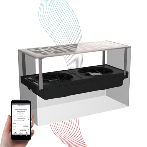 """Smart Vent / 4""""X10"""" Register Booster Fan by SmartCocoon 