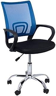 Regalos Miguel - Sillas Oficina - Silla Midi Pro - Azul y Negro - Envío Desde España