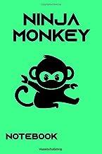 Ninja Monkey Notebook College Ruled ver. 2: Amazon.es ...