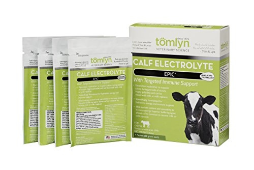 TOMLYN Epic Calf Electrolyte Supplement (4 Pouch), 66g