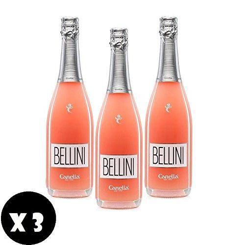 CANELLA BELLINI 75 CL Wein- und Weifischgrund 3 Flaschen