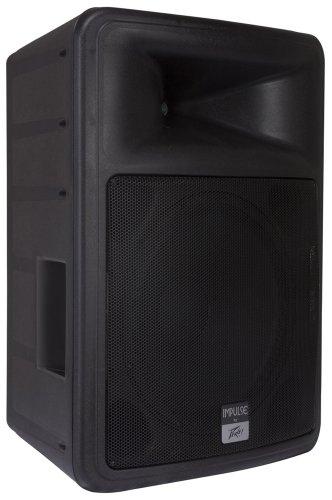 "Peavey IMPULSE1015BLACK Impulse 1015 8 Ω 15"" Weather Resistant 2-Way Loudspeaker, Single, Black"