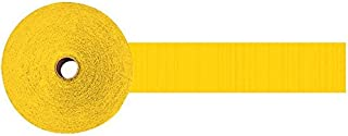 yellow party streamers