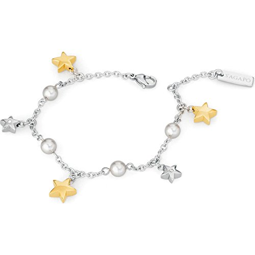S'Agapò - Pulsera para mujer, colección Little Star, informal, cód. SLS11