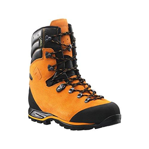 Haix Protector Forest coupe Chaussures de protection pour plus de sécurité dans la travail en plein air, 43-8.5, Orange
