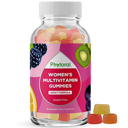 Womens Multivitamin Gummy Vitamins for Adults - Natural Multivitamin for Women Gummies and Natural Immune System Booster - Womens Multivitamin Gummies for Adults Complete Multivitamin with Zinc