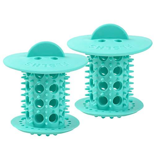 Abflusssieb Dusche Haarfänger , Badewannenablauf, Dusche, Haarfilter, Standard-Ablaufschutz für die Abdeckung des Badezimmerstopfens, passend zu Standard-Abflussgrößen von 1,5 Zoll bis 1,75 Zoll