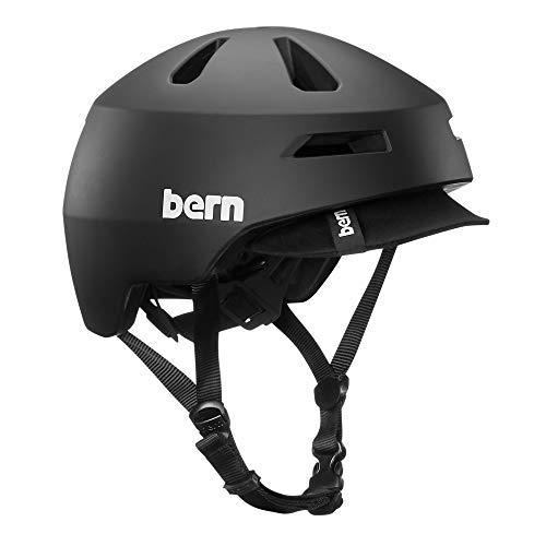 Bern Brentwood 2.0 Matte Black Visor-Large Casco, Unisex Adu