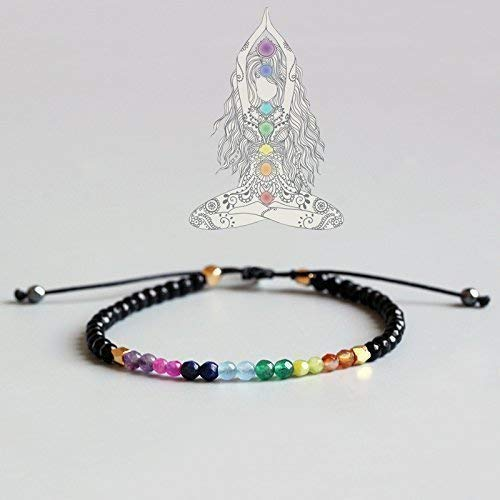 TALE Yoga 7 Chakras Crystal Healing Balance Bracelet