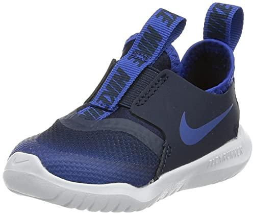Nike Flex Runner (TD), Scarpe da Ginnastica Unisex-Bambini, Blu (Game Royal/Game Royal-Midnight Navy-White), 27 EU