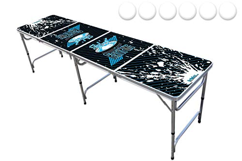 PartyPongTables.com 8-Foot Professional PartyPong Pong Table - Splash Edition