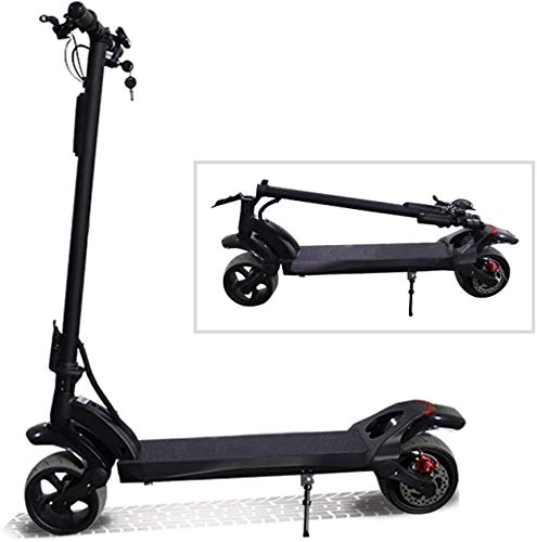 ZHANGCHAO Electric Scooter Adult, 48V/1600W Double Motor Electric Scooter Foldable Scooter Electrique Adulte Kick E Scooter Patinete Electrico Adulto
