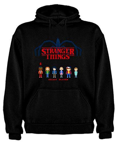 Sudadera de NIÑOS Stranger Things Serie Retro TV 80 7-8 Años
