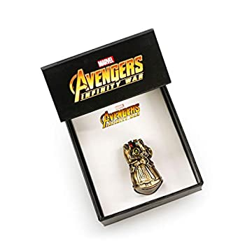 Marvel Avengers Infinity War 3D Infinity Gauntlet Pin   Limited Edition   San Diego Comic Con 2018 Exclusive