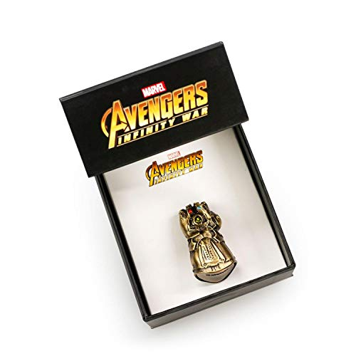 Marvel Avengers Infinity War 3D Infinity Gauntlet Pin | Limited Edition | San Diego Comic Con 2018 Exclusive