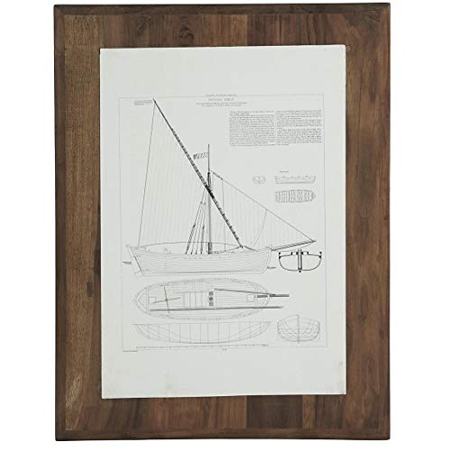 Ib Laursen Bild mit Schiff Design Bateau Boeuf Unikat