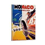 1931 Monaco Grand Prix F1 Race Werbung Vintage Poster